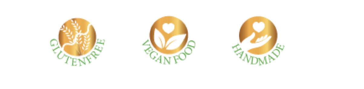 arooga Icons glutenfree veganfood handmade