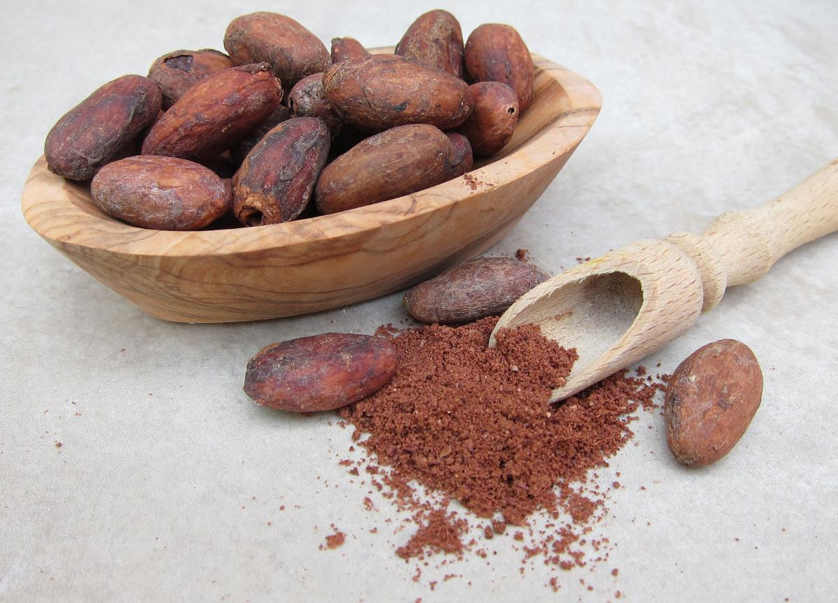 arooga Kraeuter Kakaobohnen