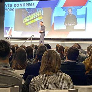arooga auf VEU Kongress Duesseldorf 31. Januar 2020 Speaker Christian Lindemann aka King of Pickpockets