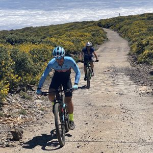 arooga Sport - Radfahrer auf der Insel La Palma